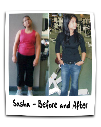Online Personal Training - Sasha Before and After photo