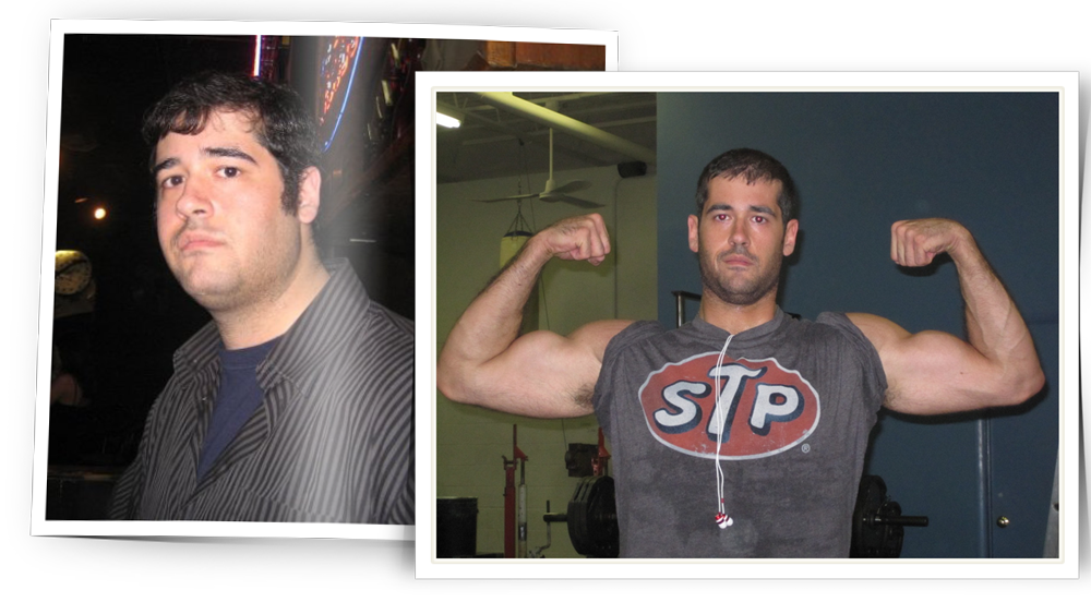 Marc Parisi - Before And After Weight Loss & Muscle Gain